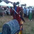 Abiriba culture on display.